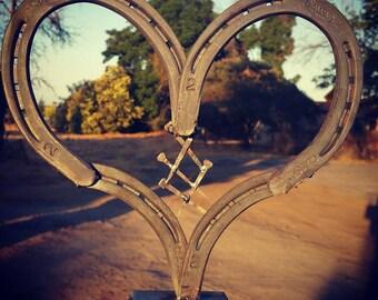 Horseshoe mended heart