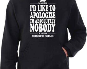 Conor McGregor 'Apology' Hoodie