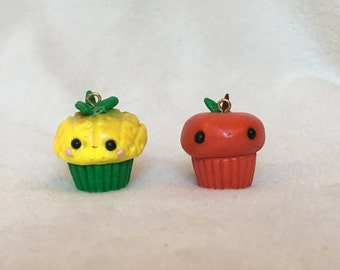 Pineapple Apple Cupcakes