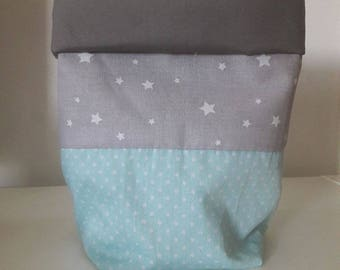 Changing table storage pouch