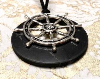 Pendant shungite  emf protection,schungite tile, shungite necklace, shungite bracelet, Reiki,root chakra healing,stone magic gift