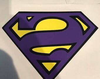 Bizarro vinyl decal (superman villain) Car Decal Custom - Window Sticker - Car Window Sticker Decals - Laptop Sticker - Car Stickers