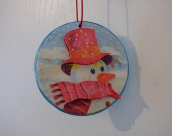 Christmas 3d wooden Medallion