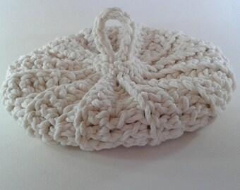 Ecru cotton/acrylic 20 cm giant Tawashi