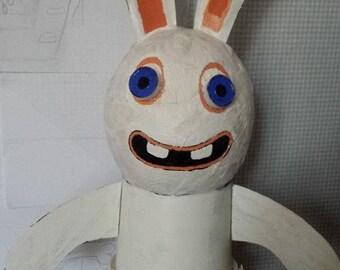 Rabbit jerk representation giant figurine SCULPTURE
