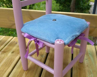 Little Princess Chair, pink and lavender blue - out of stock