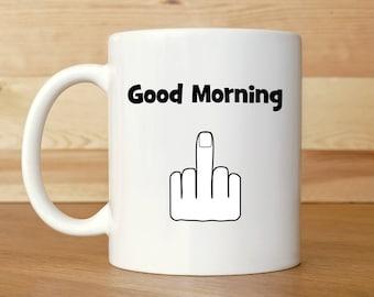 Funny coffee mugs, Mug with sayings, Middle finger mug, Profanity mug, Swearing mug, Funny Birthday mug, Mug for men, Mug for women, Mugs,