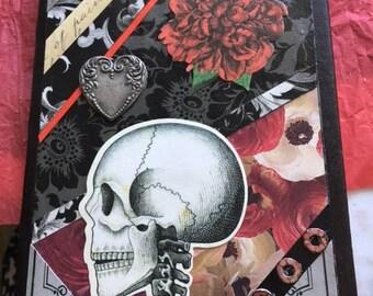 Journal~ Skull and Rose