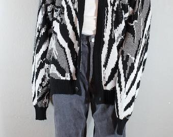 Vintage Oversized 80s-90s Cardigan