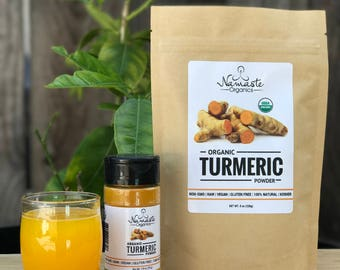 USDA Certified Organic Turmeric Powder