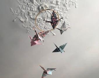 Mobile Origami crane •