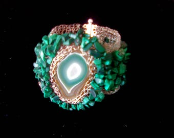 Creation - model MALAGATE - OOAK bracelet