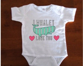 I Whaley Love You Onesie