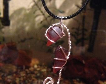 SeaHorse SeaGlass Necklace
