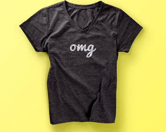 Ladies OMG T-shirt