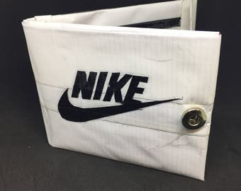 Nike Bifold Wallet with Snap Closure