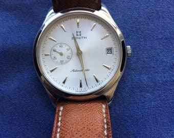 Wrist watch, Zenith