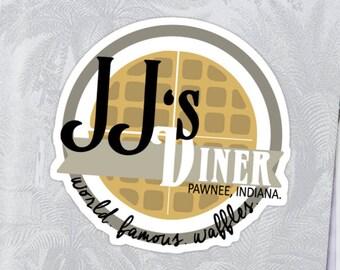 JJ's Diner Sticker - Parks and Rec