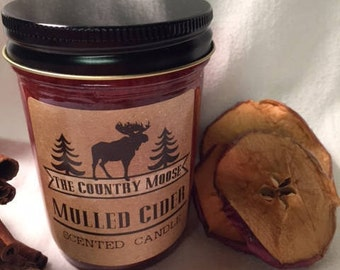 Country Moose Mulled Cider Candle