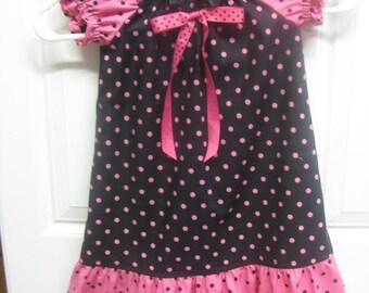 Polka Dotted Pillowcase Dress