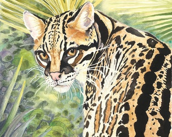 The Wild Side Archival Giclée Print on Archival Fine Art Paper Made of Cotton