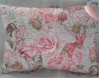 Pink Glittery Fairy cushion