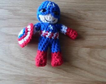 Crochet Captain America