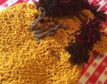 crochet lion costume newborn - six months