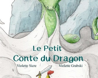 Children's book the story of the dragon