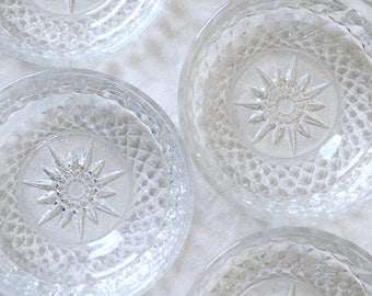 Glass Arcoroc Dessert Bowls