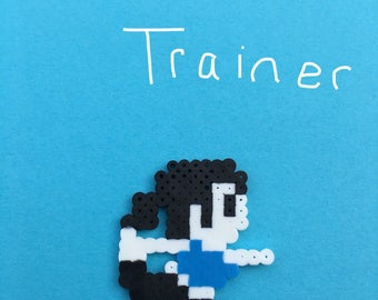 Wii Fit Trainer Perler Bead Character