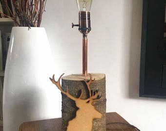 Nature vs Industry Lamp