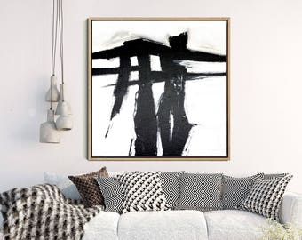 Abstract Print, Abstract Art, Black Abstract Art, Monochrome Art Print, Home Decor, Wall Decor, Instant Download