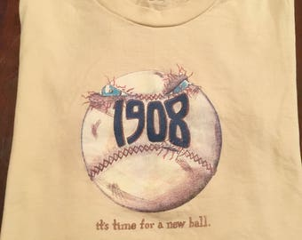 It's time for a new ball (Chicago Cubs 1908)