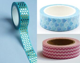 masking tape * graphic pattern choice * 1.5 cm
