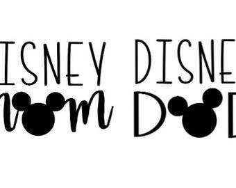 Disney Mom Or Disney Dad