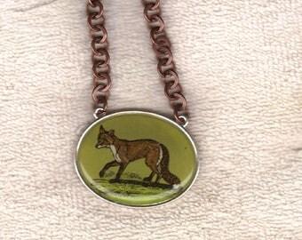 fox pendant