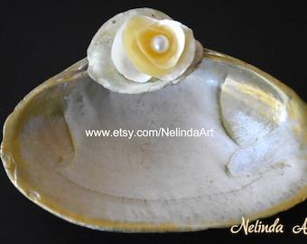 Natural Shell, Wedding Ceremony Ring holder