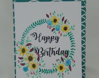 Birthday Cards Floral