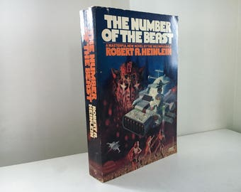 The Number of the Beast by Robert A. Heinlein (First Edition)