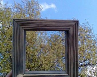 Wooden  money box , frame  money box