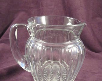 "Heisey Glass Colonial ""6"" Puritan Pitcher"