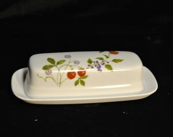 Butter Dish, Noritake Progression Berries N Such