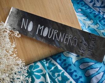 No Mourners No Funerals Bookmark