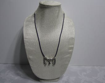 Handmade metal necklace
