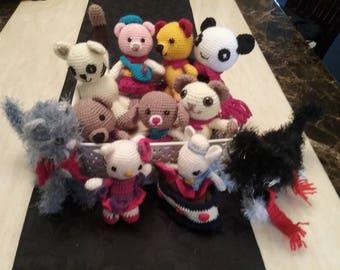 Amigurumi crochet toys