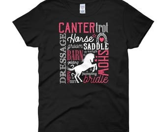 Horse Lovers Women's short sleeve t-shirt
