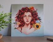Flower Girl III - Art Pri...