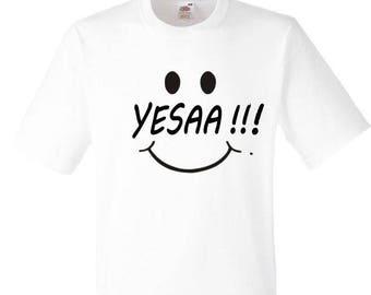 T-shirt for women and men YESAA
