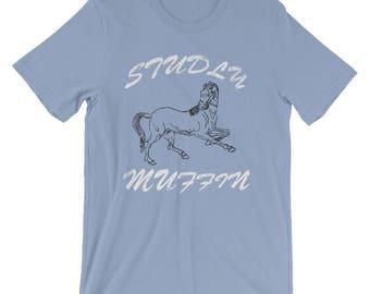 Studly Muffin Hot Male/Men Short-Sleeve Unisex T-Shirt